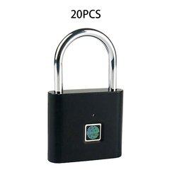 Cadeado de impressão digital inteligente cadeado pequeno bloqueio de armário de impressão digital bloqueio de armário dormitório bloqueio anti-roubo