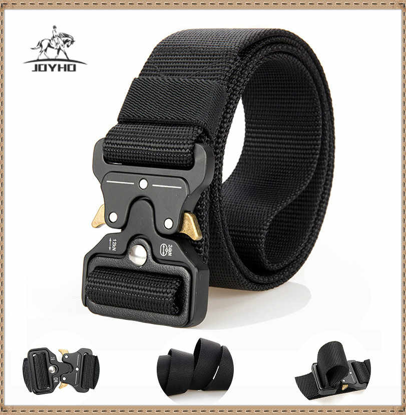 Men/'s Military Tactical Waistband Belt Heavy Duty Training Nylon Quick Release