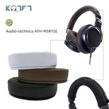 KQTFT Replacement EarPads Headband for Audio technica ATH MSR7 SE Headset Universal Bumper Earmuff Cover Cushion Cups