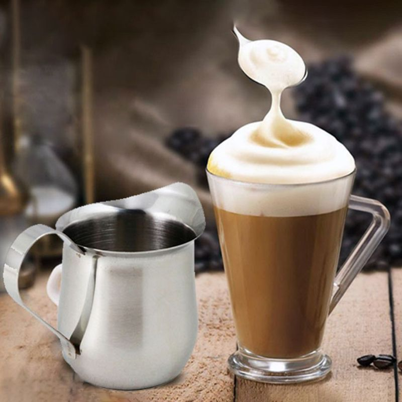 Stainless Steel Milk Coffee Latte Frothing Art Jug Pitcher Mug Cup Maker Kitchen Craft Tool