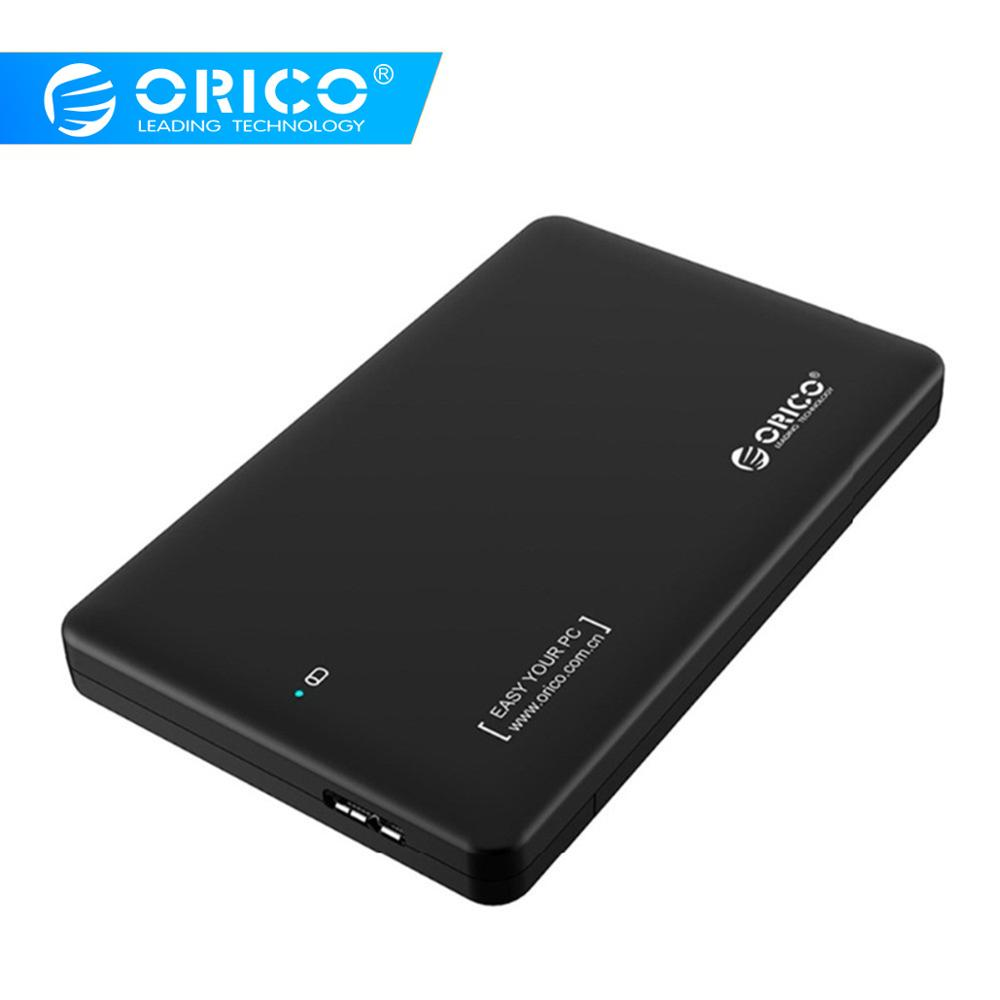 ORICO 2.5 inch hdd case <font><b>sata</b></font> to usb 3.0 HDD Case SSD adapter for Samsung Seagate SSD hdd enclosure Hard Disk External <font><b>box</b></font> image