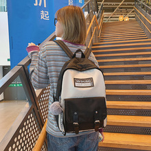 Fashion buckle Women Backpack Large capacity waterproof nylon shoulder bag Schoolbag for teenagers Girls bookbag