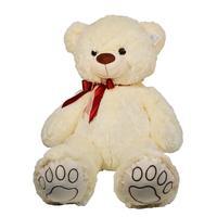 60cm Bear Plush Toy Soft Cartoon Animal Bear Stuffed Doll Baby Accompany Doll Girlfriend Birthday Gift