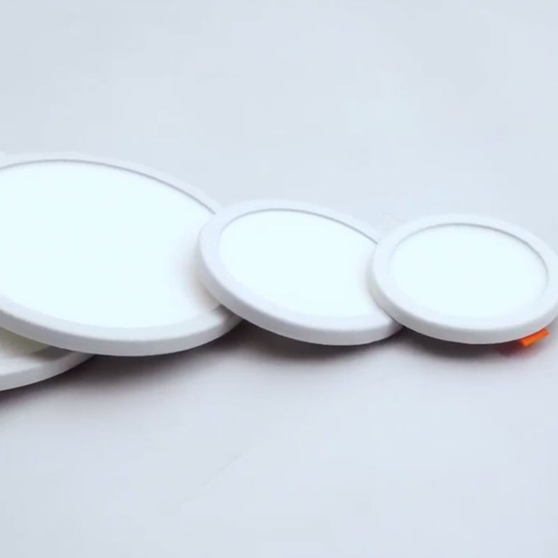 1p Super Brightness AC220V LED Panel Light LED Ceiling Light Round Ultra Thin LED Downlight Round Panel Lights 6w 15w Panel Lamp