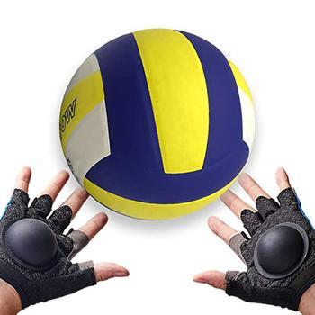 1 para rękawice treningowe do siatkówki profesjonalne rękawice do siatkówki ręczny sprzęt do korekcji siatkówka sprzęt treningowy tanie i dobre opinie volleyball training gloves Other