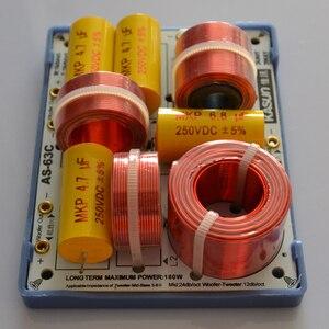 Image 5 - HIFIDIY LIVE AS 63C 2.5/3 Way 3 głośnik (głośnik wysokotonowy + średni bas + bas) głośniki hi fi audio dzielnik częstotliwości filtry crossover