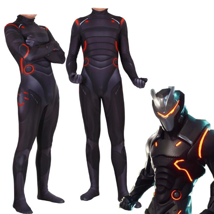 Game Battle Royale Cosplay Costume Omega Oblivion Link Zentai Bodysuit Tights Jumpsuits Suit Halloween Clothes 5 Size Men