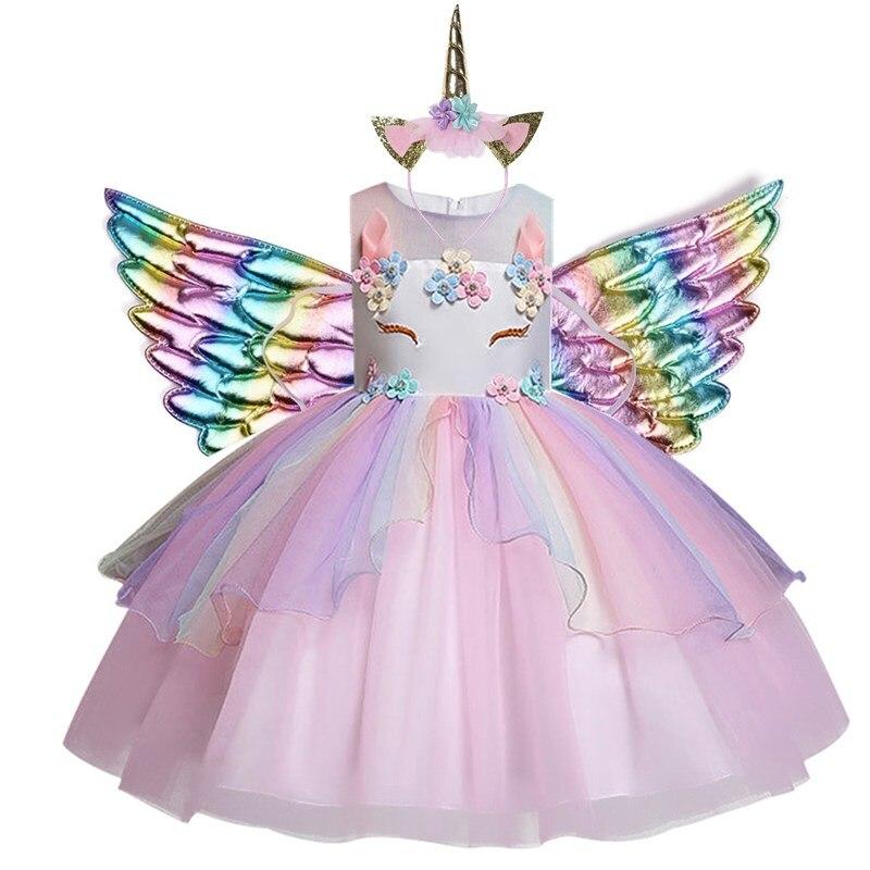 Tüdrukute Ükssarvik kostüüm 2