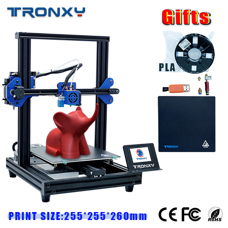 TRONXY XY-2 Pro 3d Printer Plus Size Filament Power 3D Drucker FuRun Out Detector Continuation Print Power 3D Drucker Full Metal
