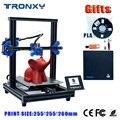 Tronxy XY-2 Pro Stampante 3d Più Il Formato Filamento 3D Drucker Furun Fuori Rilevatore di Continuazione Stampa di Alimentazione 3D Drucker Pieno metallo
