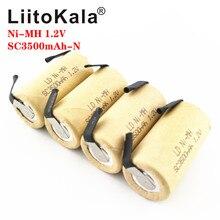 LiitoKala SC 3000mAH NI MH 1.2V Batteria Ricaricabile ad alta tasso di scarico 10C 15C per utensili Elettrici batteria Strumento di Potere FAI DA TE nicke