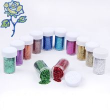 12 Colors Shiny Resin Pigment Mica Powder Glitters Sequins Resin Jewelry Making