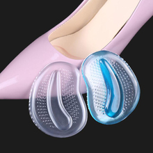 500pair/lot Silicone Forefoot Pads Foot Care Tool Shoe Patch Insoles Inserts Massager High Heels Anti-Slip Pain Relief
