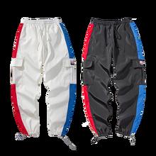 New Joggers Pants Mens Cargo Fashion Casual Streetwear Men Hip Hop Clothing 2019 Track Pantalon Invierno Hombre