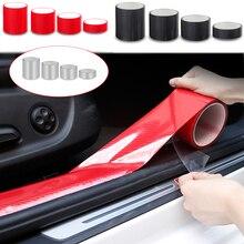 5D Carbon Nano Glue Car Sticker Auto Protector Film Door Edge Protective Car Trunk Door Sill Full Body Sticker ExternalAccessory
