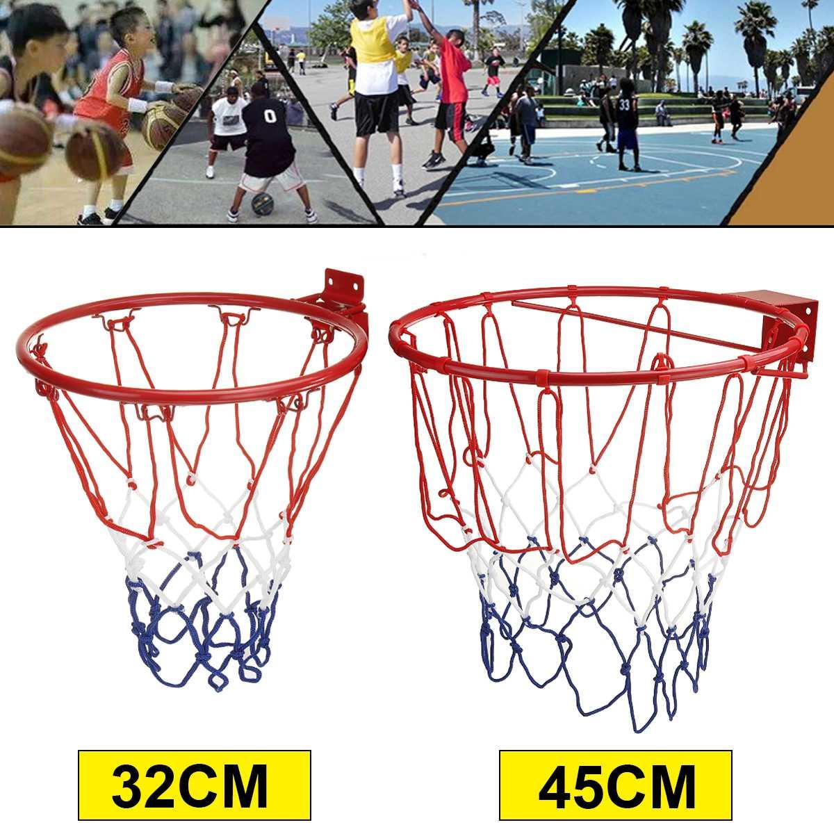 Стальная сетка-обруч для баскетбольного кольца, 32/45 см, с винтами