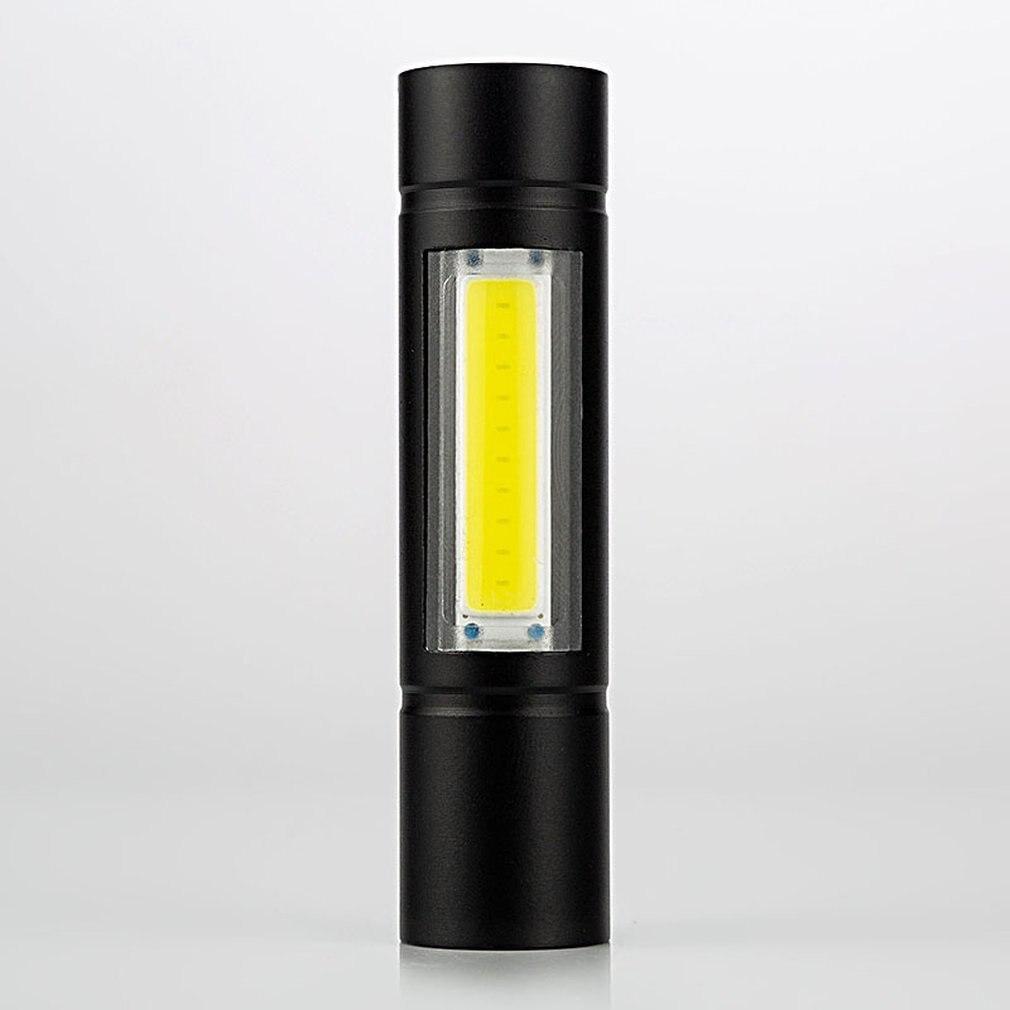 Aluminum Alloy COB Flashlight High Power LED Waterproof Outdoor Emergency Camping Hiking Hunting Torch Flashlight