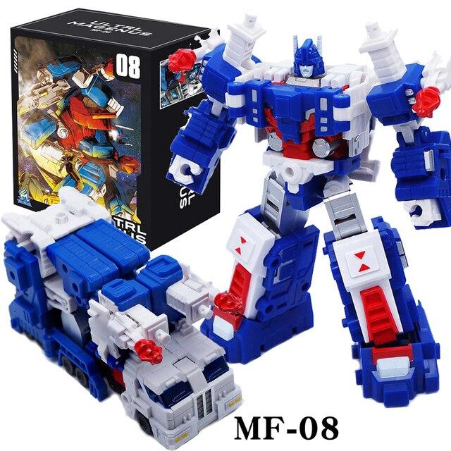 Figurine et Robot commandant G1 Ultra Magnus MFT MF 08, MF08, figurines de guerre poche, jouets de Collection pour garçons