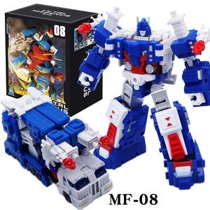 Image 1 - التحول G1 الترا ماغنوس قائد MFT MF 08 MF08 جيب الحرب كو عمل الشكل روبوت بوي جمع اللعب