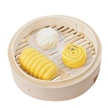 500pcs Small Round Steamed Bun Papers Non-stick Household Snack Bread Cake Steamer Oil Paper Pads 6/7/8cm недорого