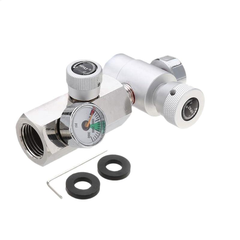 Cga320 G1/2 Co2 Tank Refill Adapter Connector Kit for Filling Soda Maker Sodastream Tank