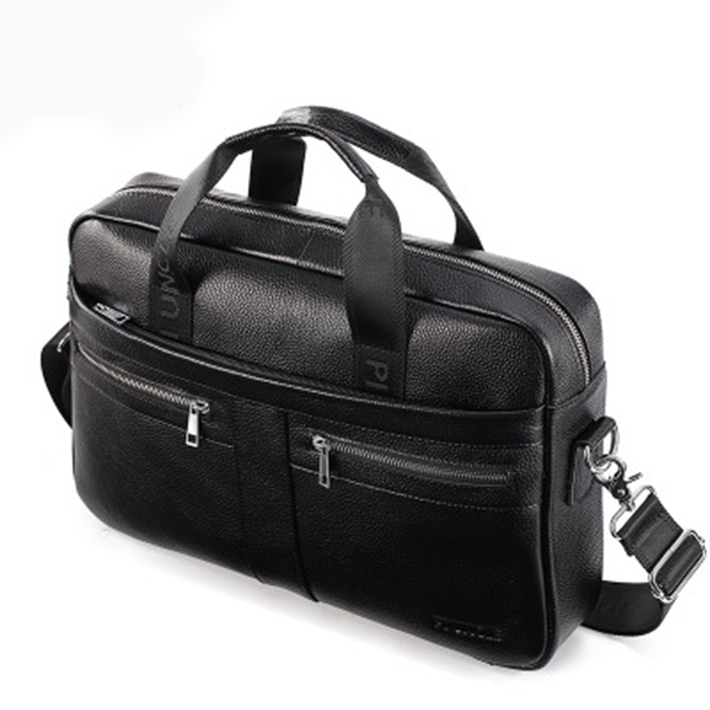 2019 Hot Sale Bag Men's Genuine Leather Briefcase Male Man Laptop Bag Natural Leather For Men Messenger Bags Men's Briefcases