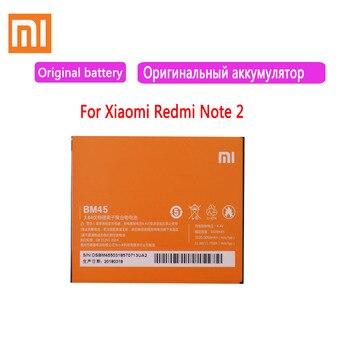 Original XIAOMI BM45 Replacement Battery For Xiaomi Mi Redmi Note 2 Redrice note2 Authentic Phone Batteries 3060mAh original bm46 battery for xiaomi redmi note 3 phone high quality replacement batteries 4050mah