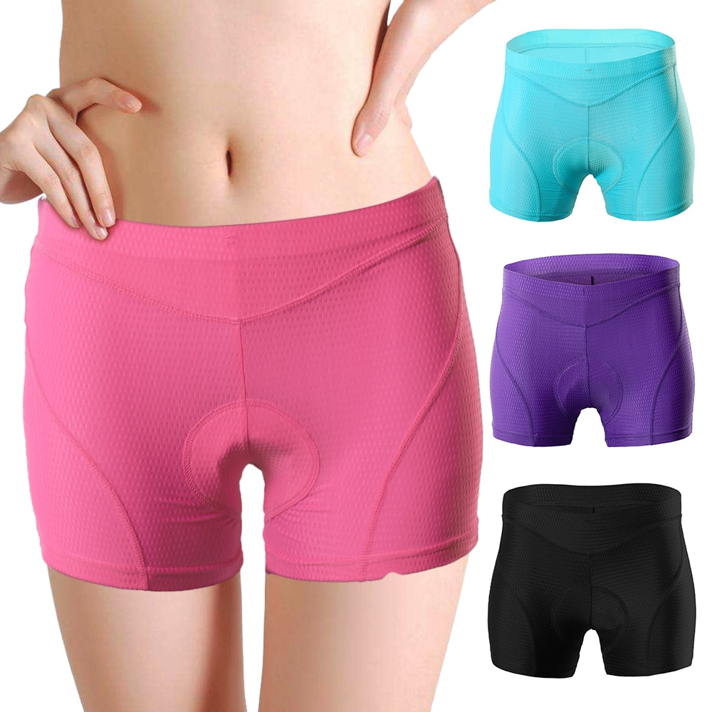 Women Bike Underwear 3D Padded MTB Bicycle Cycling Biking Underwear Shorts Cycling Shorts MTB Shorts Culotte Ciclismo Hombre