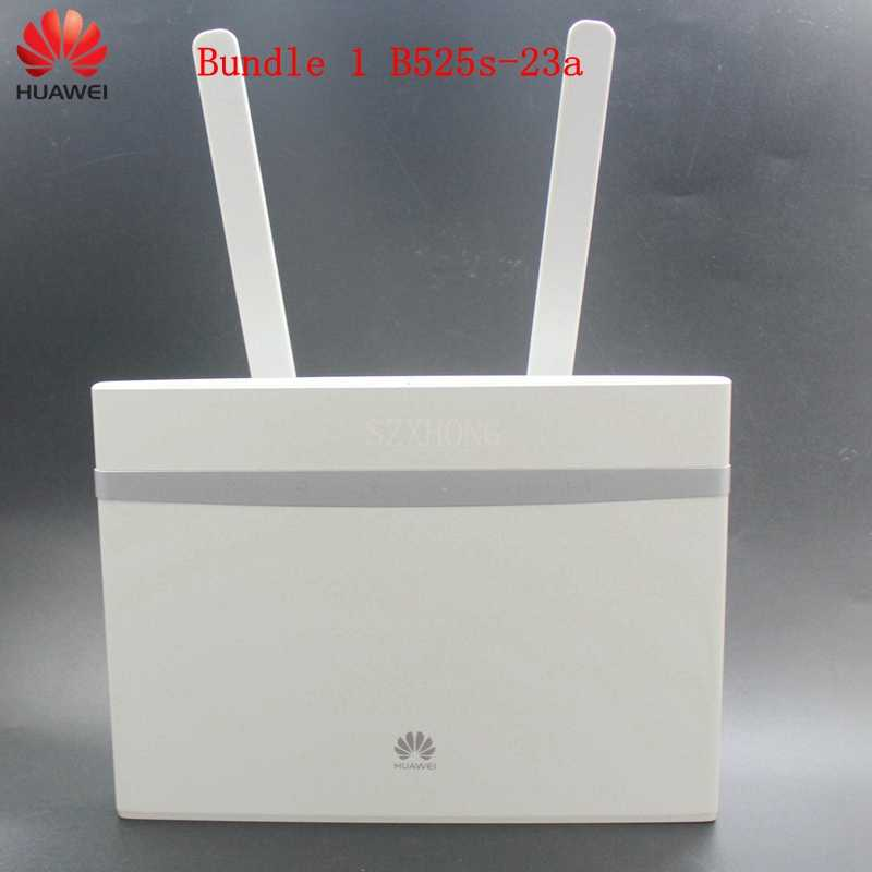 Unlocked Huawei B525 B525s-23a B525s-65a 4G LTE Kat. 6 mobiele Hotspot Gateway 4G LTE WiFi Router Dongle 4G CPE Draadloze Router