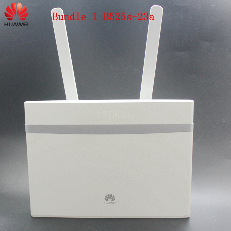 Unlocked Huawei B525 B525s-23a B525s-65a 4G LTE Cat. 6 Mobile Hotspot Gateway 4G LTE WiFi Router Dongle 4G CPE Wireless Router