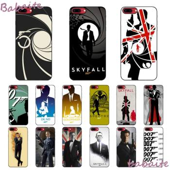 Babaite 007 Spectre James Bond Skyfall Phone Case fundas for iPhone 12 6 6S Plus 12 pro max case for X XS MAX image