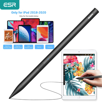 ESR Stylus Pencil for iPad Touch Screen Pencil for iPad 2018 2020 For Apple Pencil 2 Digital Pen For iPad Pro 12.9/11 2020 New