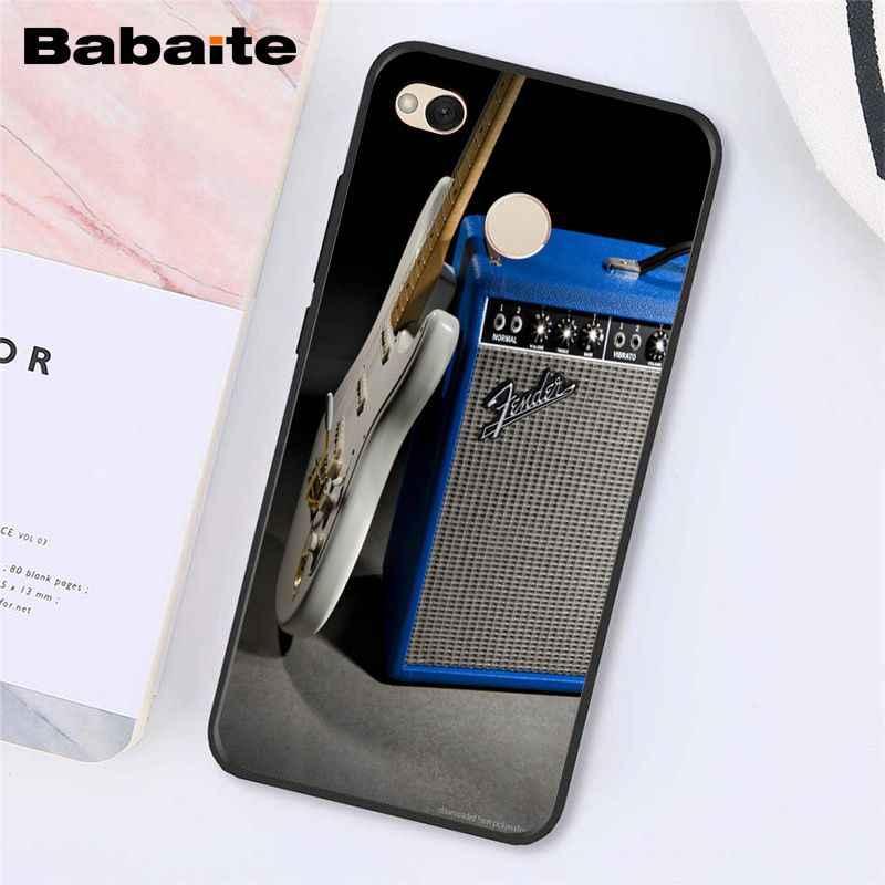 Babaite amplificador de guitarra marshall teléfono caso para Xiaomi Note3 mi5 6 A1 A2Lite Mi9 9SE mi8lite Mix2 2S Max2 3