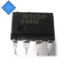 10 pçs/lote NE5534P NE5534AP NE5534N NE5534 = NJM5534 NJM5534DD NJM5534D NJM5534M 5534D DIP8 Amplificador original novo Em Estoque