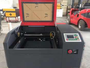 New 50W Co2 Laser 4040 laser engraving machine for cutting plywood, wood, MDF, acrylic, Crytal, Glass, Paper, Plastic, Plexiglas