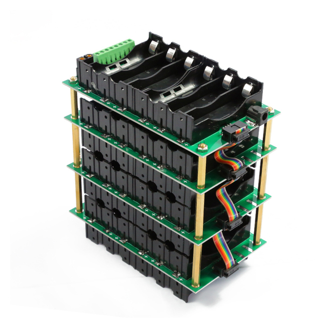 12V 3S Power Muur 18650 Batterij 3S Bms Li Ion Lithium 18650 Batterij Houder Bms Pcb Diy ebike Solar Batterij 3S Batterij Doos