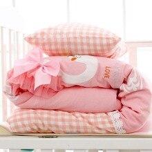 Хлопковые мягкие детские покрывало детское стеганое одеяло для малышей постельные принадлежности одеяло детское одеяло для новорожденных кроватки пеленать крышка осень-зима