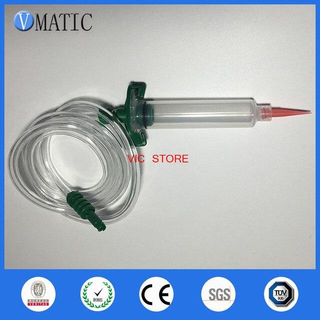 عالية الجودة موزع سائل لحام لصق لاصق الغراء حقنة تعمل بالهواء المضغوط 30/10/5cc ml مع محول برميل وطرف إبرة