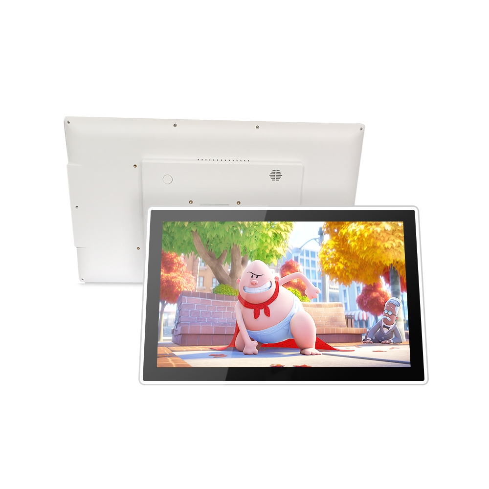 Android all-in-one pc 15.6 inch all in one computer pc digital signage screen tablet computer with DC power enlarge