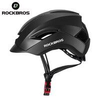 Rockbros bicicleta capacete lazer comute bicicleta elétrica da motocicleta scooterhelmet mtb estrada capacete de segurança ciclismo bmx Capacete da bicicleta     -
