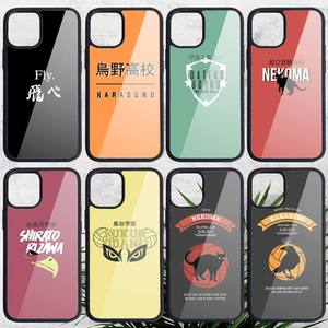HAIKYUU! Школьный чехол для iPhone 11 12 pro XS MAX 8 7 6 6S Plus X 5S SE 2020 XR