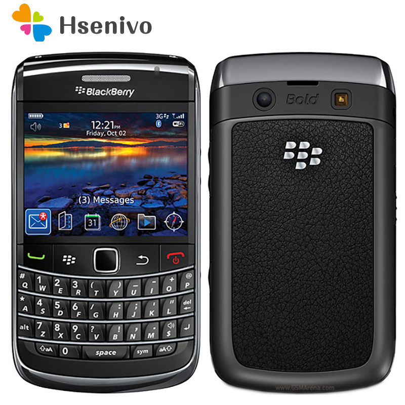 9700 Original Unlocked Phone Blackberry 9700 3G WIFI Bluetooth GPS Phone Unlocked Refurbished Free Shipping