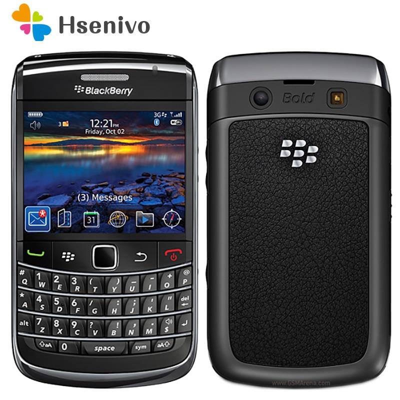 9700 Original Unlocked Phone Blackberry 9700 3G WIFI Bluetooth GPS Phone Unlocked Refurbished Free Shipping