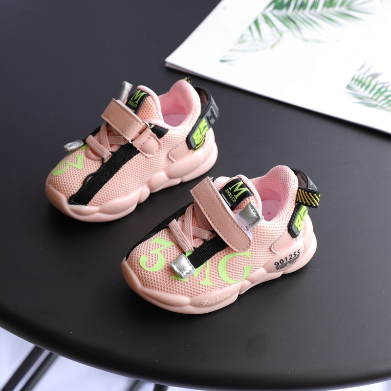 Baby Shoes Autumn And Winter 1-3 Years Old Soft Bottom  Toddler Shoes Baby Sports Shoes  Baby Boy Casual Shoes