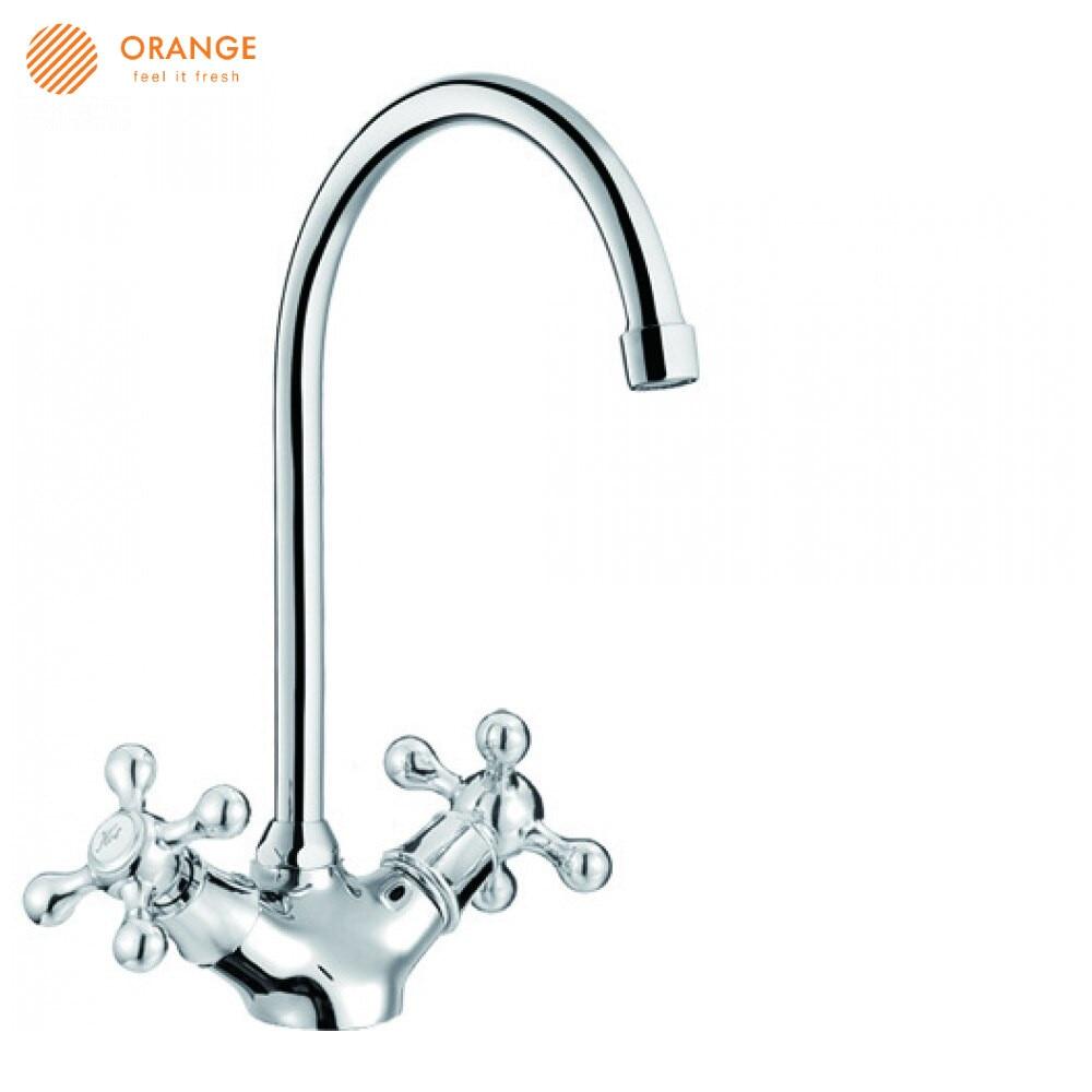 Kitchen Faucets ORANGE M11-003cr Home Improvement Fixture Mixer Crane Cranes For Sink Alfi3