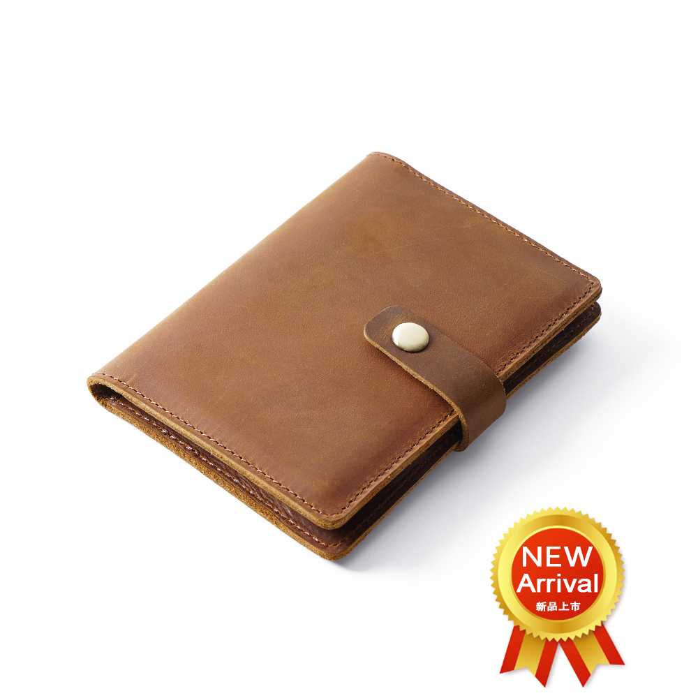 Gimax Card /& ID Holders Color: Rose red Fashion Solid Genuine Leather Unisex Passport Cover Purse Women Credit Card Holder Female Case Russia Travel Wallet for Men