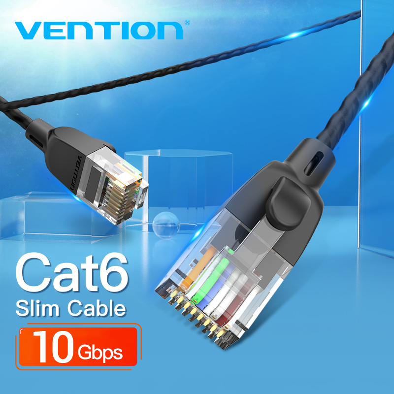 RED Color 10 Pack VasterCable Cat.6 Cable 5 Ft UTP CAT6 Gigabit Patch Cable