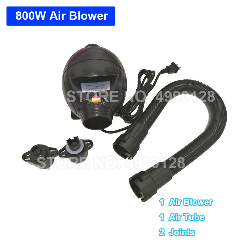 Free Shipping Air Blower for Inflatable Product Inflator Air Track Bubble Ball Electric Pump Blower Compressor 800W 110V 220V