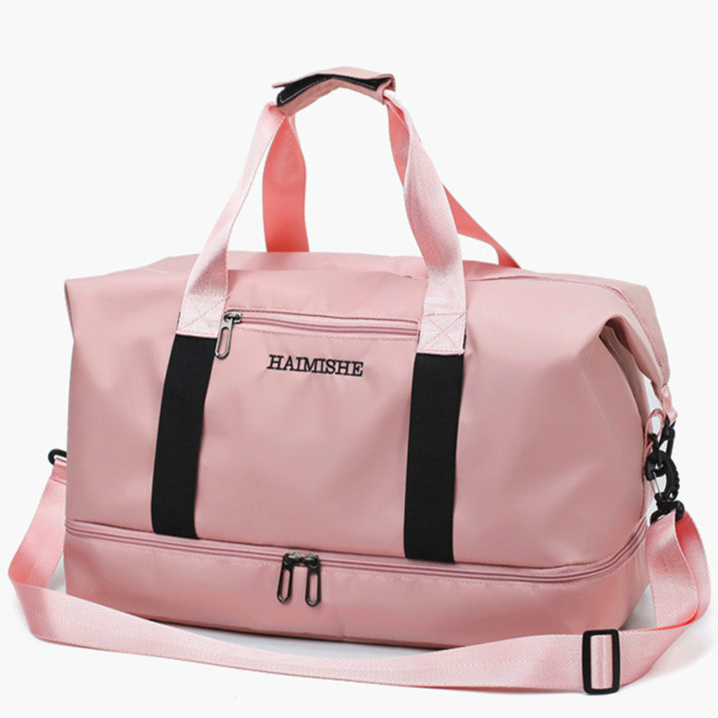 New Waterproof Travel Sports Bag Ladies Outdoor Sport Gym Bags Women Oxford Fitness Storage Tote For Shoe Men Training Bag 2019