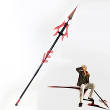 Final Fantasy Neun Lance PVC Cosplay Requisiten Home Kunst Dekoration Halloween Party Cosplay Waffen